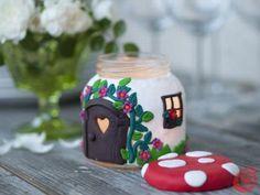 Jar light holder