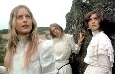 A scene from the movie 'Picnic at Hanging Rock' - Anne Louise Lambert/Rex Features