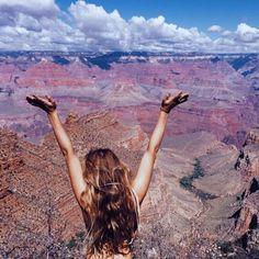 vaninawalsh:  we made it  (at Grand Canyon)