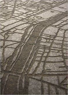 Moss & Lam: Laser Etched Rugs