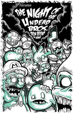Night of the Nintendo Undead by Gazpar Pantoja