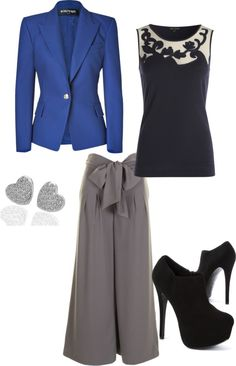 """""""Interviewing with style"""" by mrsmaryjane ❤ liked on Polyvore"""