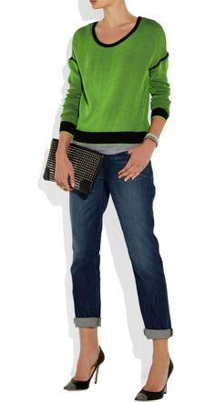 Rag & Bone Top, J Brand Jeans, Proenza Schouler Clutch, JIMMY CHOO Amika Studded Leather Pumps,  Reed Krakoff ring and Maria Rudman bracelets   My Street Style