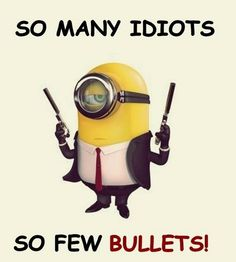 Want to kill all who spread rumors about me Cute Minions, Minion Jokes, Minions Quotes, Funny Minion, Minions Minions, Minion Stuff, Funny Captions, Funny Jokes, Hilarious