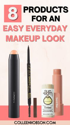Here are tips and products for a hassle-free natural makeup look you can sport with confidence on the daily. #everydaymakeup #naturalmakeup Natural Makeup Tips, Organic Makeup, Simple Everyday Makeup, Makeup Trends, Makeup Ideas, Pretty Makeup Looks, Makeup Must Haves, Best Makeup Products, Beauty Products