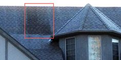 What is inside this home that allows the hot air to rise to the roof and keep the frost from forming?  Hot Air Loss = $$ out the roof.