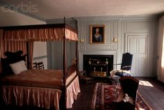 Bedroom at Boxwood Hall