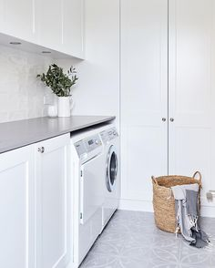 "319 Likes, 32 Comments - { Sally Rhys-Jones } (@sally_rhys_jones) on Instagram: ""Laundry Love at our Neutral Bay project. This turned into the most serene space, every time I visit…"""