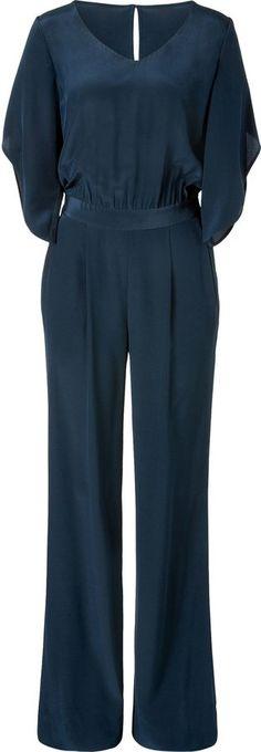 Pin for Later: Die wilden Siebziger sind zurück! Schicke Jumpsuits Diane von Furstenberg Jumpsuit Lucy aus Seide (399€)