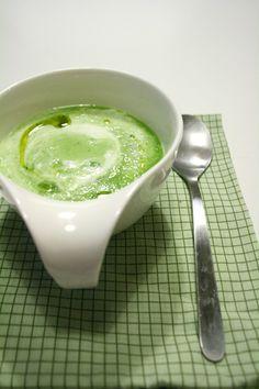 Zuppa fredda di cetriolo e yogurt - #chezbetulì