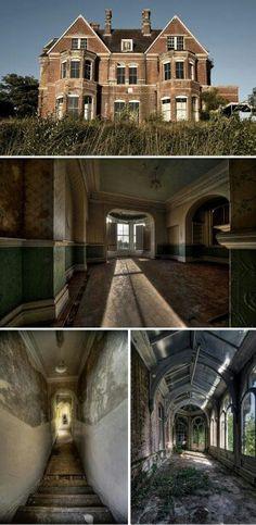 The Lillesden school for girls, UK.   #abandoned #abandoned school