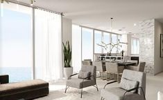 Auberge Beach Residences & Spa, Fort Lauderdale - Real Estate For Sale Fort Lauderdale Real Estate, Fort Lauderdale Beach, Condos For Rent, Condos For Sale, Living Area, Living Spaces, Beachfront Property, Home Technology, Stone Countertops