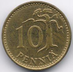 Finland 10 Penniä 1963 Veiling in de Finland,Europa (niet of voor €),Munten,Munten & Banknota's Categorie op eBid België