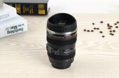 Fifth Generation Canon Camera Canon EOS-1V Creative Lens Coffee Cup