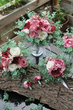 umělé látkové květiny Floral Wreath, Wreaths, Boho, Home Decor, Homemade Home Decor, Flower Crowns, Door Wreaths, Deco Mesh Wreaths, Interior Design
