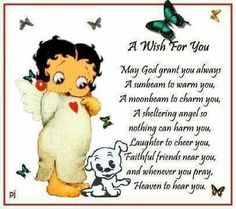Betty Boop Quotes for Facebook | Via Maria Chandler