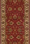 "Momeni Persian Garden PG-10 Salmon 2'6"" (30"") Wide  Stair and Hallway Runner"