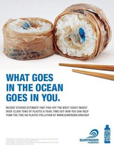 Great awareness campaign! Maybe there should be a trip down to the nearest beach to clean up.