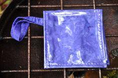 Mermaid Pouch 'Amaranth' Small Waterproof by saltydesignsalaska, $24.00