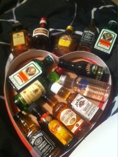 holy crap what a genius valentine gift for a man... bc men don't care about valentines day. mike would love this, next yr!