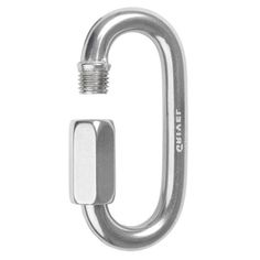 Grivel Maillon Rapide Carabiner - Closed Gate Strength 10kN | at www.weighmyrack.com