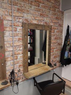 #scafolding #mirrors #industrial #brick #pipe