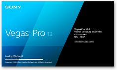 [ Free Download ] Sony Vegas Pro 13.0 build 310 (64 bit) + Patch