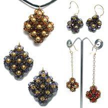 Reversible Earrings & Pendant at Sova-Enterprises.com