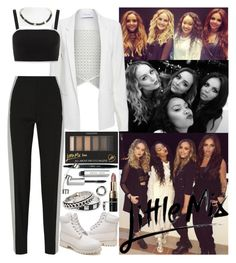 """""""Together with Little Mix on The X Factor in Dubai"""" by valeria-angel ❤ liked on Polyvore featuring Topshop, 10 Crosby Derek Lam, Bobbi Brown Cosmetics, Maison Margiela, Timberland, MANGO and Marc by Marc Jacobs"""