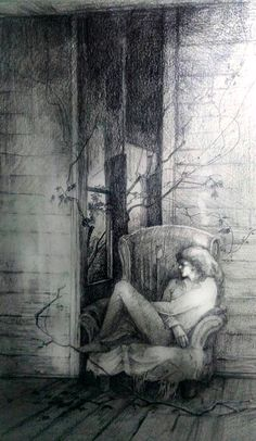 Кресло для призрака. Chair for a ghost