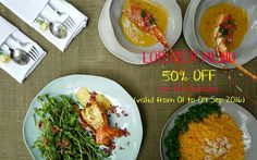 """Happy Independence Day September 2nd Besides """"50% Off For All Steaks"""", Si also offers 50% for Lobster Menu (valid until 04/9/2016) - Si Restaurant Open: 10.30am until late 7A Ngô Văn Năm, District 1, HCMC Reservation: 08 3829 6066 / Hotline: 093 805 0167 www.sirestaurant.com"""