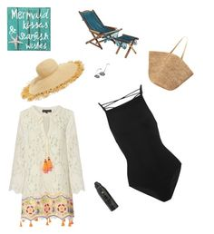 Sunny days at the beach by trayrenoops on Polyvore featuring polyvore, fashion, style, Hemant and Nandita, Zimmermann, Flora Bella, Eric Javits, Jean-Paul Gaultier, Soleil Toujours, NOVICA and clothing