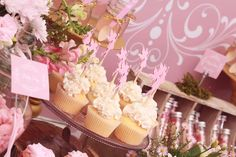 Pink Fairies Birthday Party Ideas | Photo 1 of 85 | Catch My Party