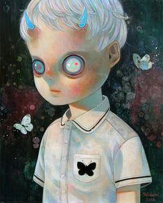 Children of Emptiness - Cabbage Butterfly by Hikari Shimoda