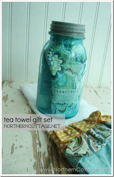 The 30 Best Tea Towel Gift Ideas Images On Pinterest Homemade