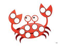Ocean Do-a-Dot Printables - Gift of Curiosity Sea Activities, Preschool Activities, Lacing Cards, Do A Dot, Under The Sea Theme, Color Games, Ms Gs, Dot Painting, School Fun
