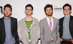 Passion Pit on the Webby Red Carpet by The Webby Awards, via Flickr