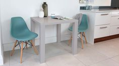 Fern Grey Gloss Kitchen Table £119.00