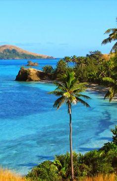 Yasawa island, Nacula in Fiji