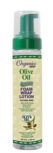 Luxe Beauty Supply - Africa's Best Organics Olive Oil Silkening Foam Wrap - 8.5 oz (http://www.lhboutique.com/africas-best-organics-olive-oil-silkening-foam-wrap-8-5-oz/) #HairCare, #luxebeautysupply, #NaturalHairCare