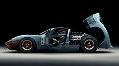 Ford GT40 - One Of The Greatest Cars Ever Made.