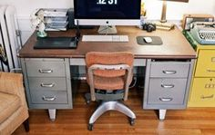 Tanker Desk, Office Chairs, & More — Eastern Daily Scavenger 05.07.2012