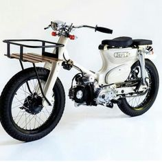 Ideas For Custom Bike Chopper Scooters Honda Cub, Moto Car, Moto Bike, Motorcycle Types, Motorcycle Garage, Custom Bikes, Custom Cars, New Audi Car, Cool Bike Helmets