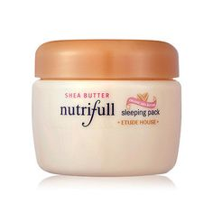 Etude-House-Nutrifull-Shea-Butter-Sleeping-Pack-100ml Price:US $15.00 Description: Sleeping pack that nourishes your skin and bringing it back to life. Visit: http://www.ebay.com/itm/Etude-House-Nutrifull-Shea-Butter-Sleeping-Pack-100ml-/331282002035?ssPageName=STRK:MESE:IT