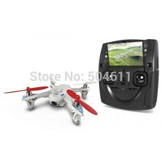 Hubsan X4 H107D 2.4G 4-CH LCD Remote Control UFO Quadcopter w 0.3MP Camera & 6-axis Gyro - Assorted Color