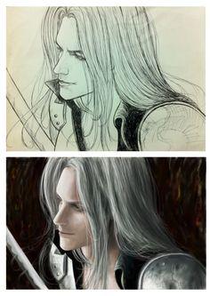 Sephiroth, Rodrigo Cardoso on ArtStation at https://www.artstation.com/artwork/05QoE