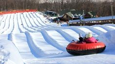 Win Snow Tubing Passes! Picture it now: you and 3 of your best mates gliding, bouncing and laughing your way down the slope! That's just what you'll be doing if you win this family 4-pack of 2 hour snow tubing passes. Good at Ski Liberty, Roundtop and Whitetail Resort. Enter to win here.