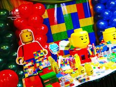 Everything is awesome with this cool Lego Birthday Party! See more party ideas and share yours at CatchMyParty.com