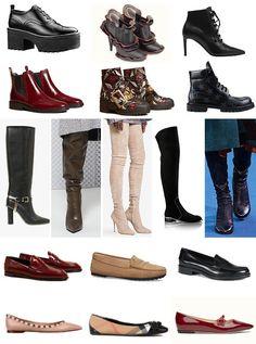 Tendencias de otoño 2016: Los zapatos que vienen. Botines, botas altas, mocasines... Todas las novedades del calzado de la temporada que está a la vuelta de la esquina