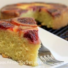 Make this beautiful Blood Orange Upside Down Cake in the winter months when blood oranges are in season to brighten up those cold, grey days. Cake Recipes, Dessert Recipes, Pasta Recipes, Pineapple Upside Down Cake, Cake Tasting, Healthy Cake, Round Cake Pans, Margarita Recipes, Orange Recipes